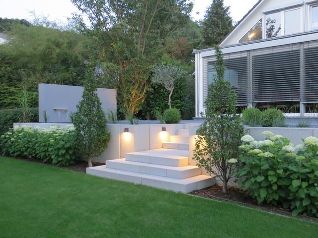 Terrasse hanglage modern  Garten Am Hang Modern – igelscout.info
