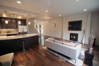 Urban Living Room Kitchen Eating Area Modern
