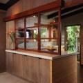 Zen kitchen island style exotique cuisine other metro par