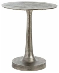 Arteriors Bellamy Round Side Table - Industrial - Side ...