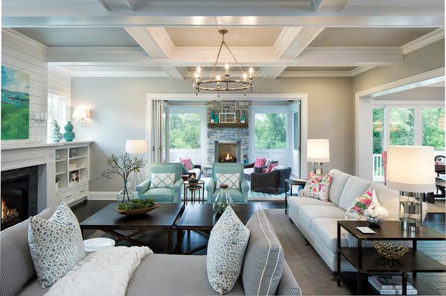 Artisan Tour Home 2016 beach-style-living-room