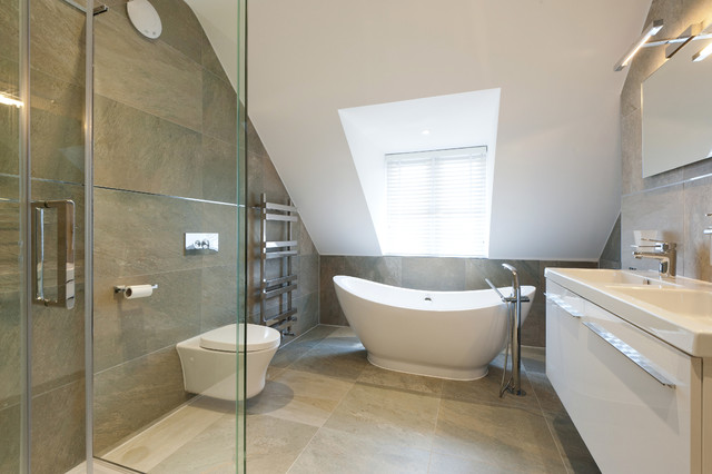 Raynes Park  Contemporary  Bathroom  London  by Barnes