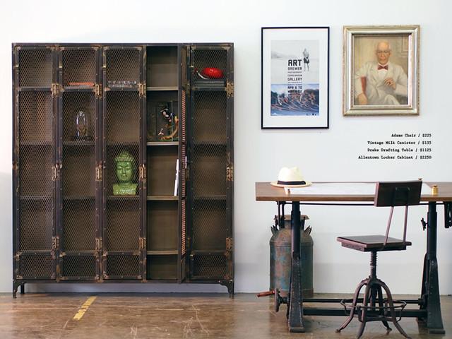 Allentown Locker Cabinet  Industrial  Home Office  Los