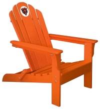 Chicago Bears Adirondack Chair, Orange - Contemporary ...