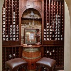 Transitional Living Room Furniture I Painted My Too Dark Atlanta Basement Design/build - Traditional Wine Cellar ...