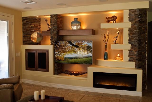theater chairs home entertainment elegant folding media wall 1 - contemporary family room phoenix by thunderbird custom design