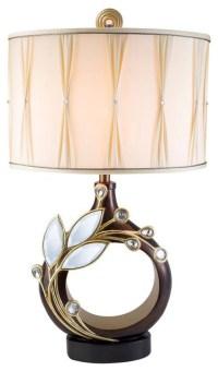 Laurel Topaz Table Lamp