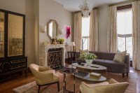 Brooklyn Brownstone - Transitional - Living Room - New ...