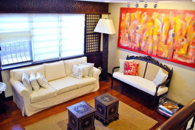 Traditional Filipino Residence - Contemporary - Living ...