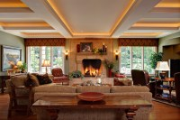 English Country Manor - Family Room - Traditional - Living ...