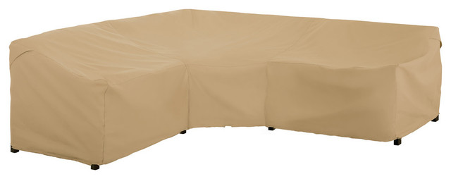 patio v shape sectional lounge set cover all weather protection furniture cover