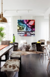 Living room sheers - Contemporary - Living Room - Miami ...