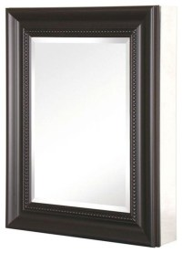 Recessed or Surface Mount Mirrored Medicine Cabinet ...