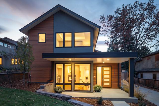 Value Driven Modern Home - Modern - Exterior - denver - by ...