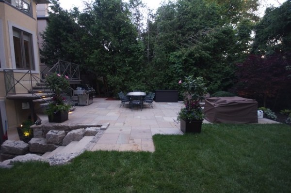 complete landscaping project