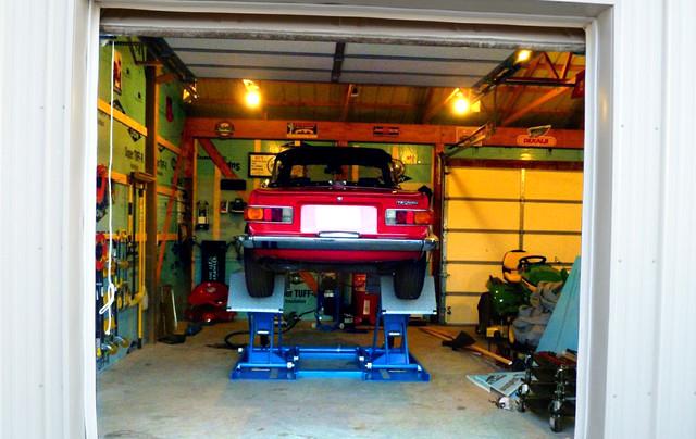 Scissor Lift For Home Garage Shed Philadelphia By