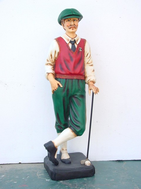 Golf Statues Home Decorating
