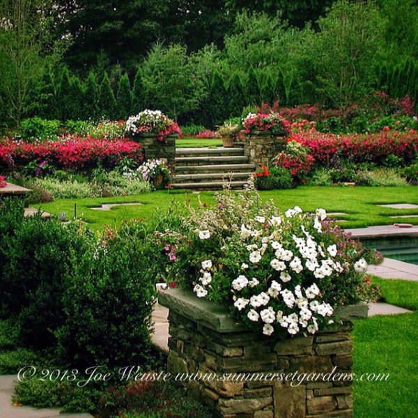 nj garden design - transitional