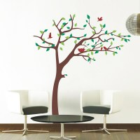 Nursery Tree Decal, Wall Decal, Dark Brown - Modern - Wall ...