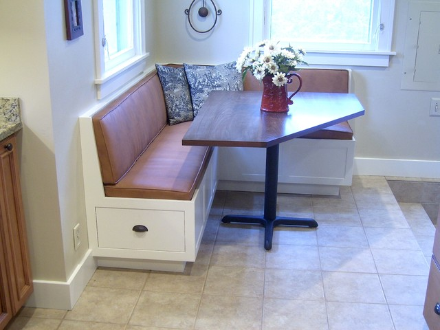 Corner Banquette And Table