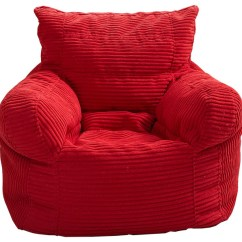Corduroy Bean Bag Chair Oversized Chairs With Ottoman Small Arm Contemporary By Milton Greens Stars Inc