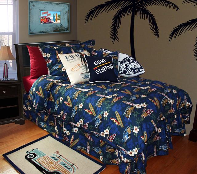 Hawaiian Bedding Beach Style Bedroom Orange County By Dean Miller Surf Bedding