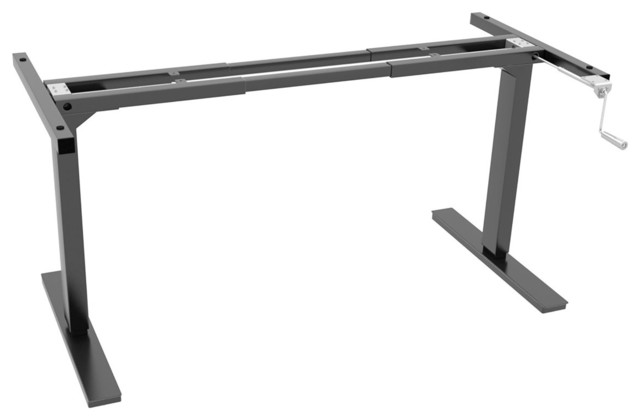 Ergo Elements Adjustable Height Standing Desk with Manual