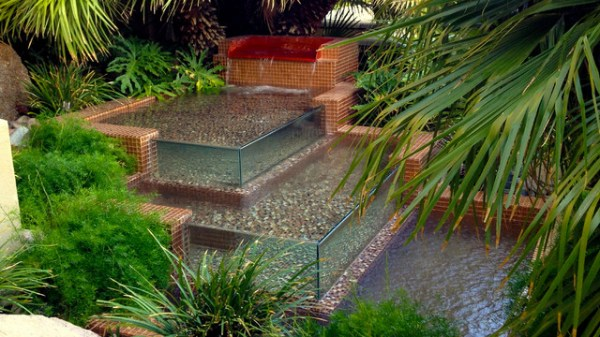 water features - tropical landscape