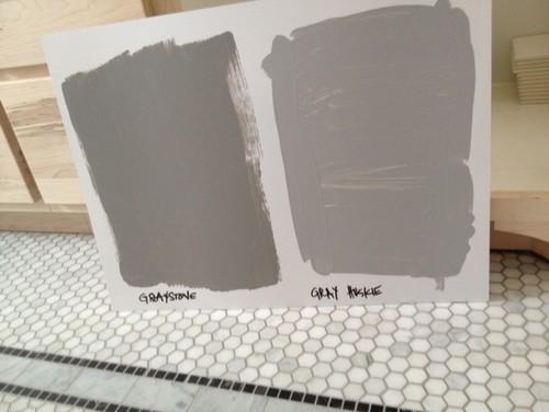 Need Help Choosing Gray For Vanity ASAP
