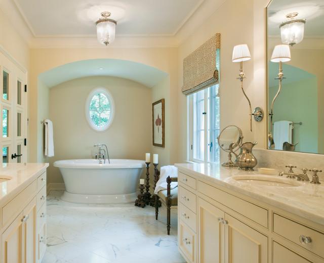 Dordogne French Chateau Traditional Bathroom DC