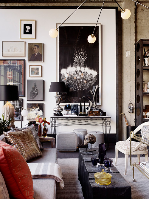 Eclectic Living Room By San Francisco Interior Designers Decorators Jeffers Design Group