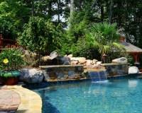Ultimate Backyard Experience - Traditional - Pool ...