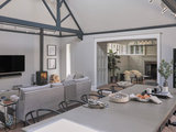 transitional-dining-room Houzz Tour: English Victorian Mixes Old and New (20 photos)