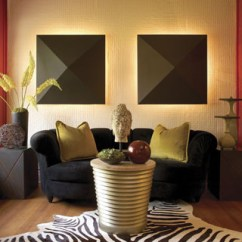 Contemporary Asian Living Room Design Four Chairs Fusion Baltimore By