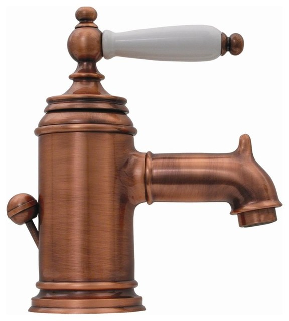 Fountainhaus Lavatory Faucet Old Copper  Traditional