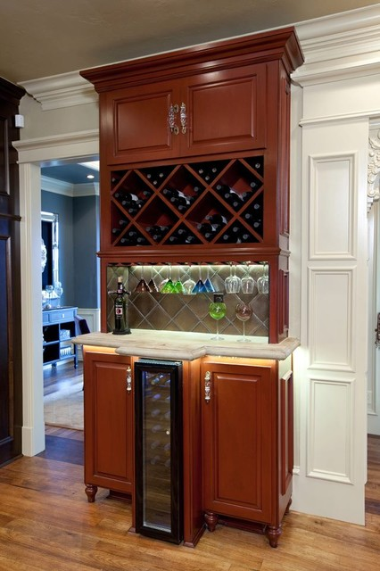 Wet Bar  Traditional  Wine Cellar  oklahoma city  by