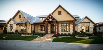 The Cross Creek - Rustic - Exterior - Houston - by Design ...