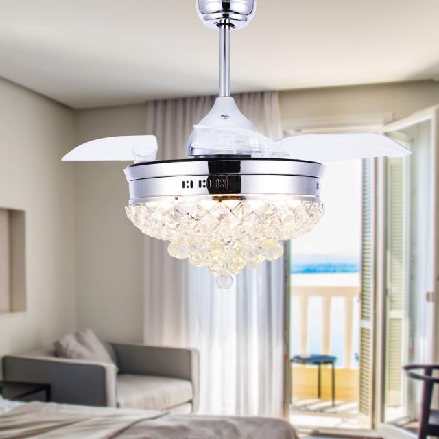 42 blade semi flush mount ceiling fan