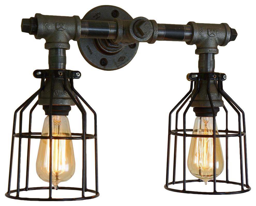 modern farmhouse vanity light