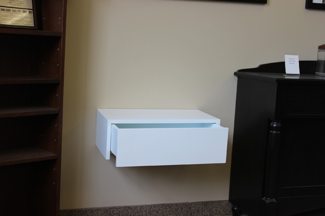 Contemporary Wall Hung Night Tables  Modern  Nightstands