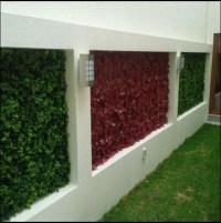 Vertical Garden Wall, Outdoor Art | Artificial Hedge ...