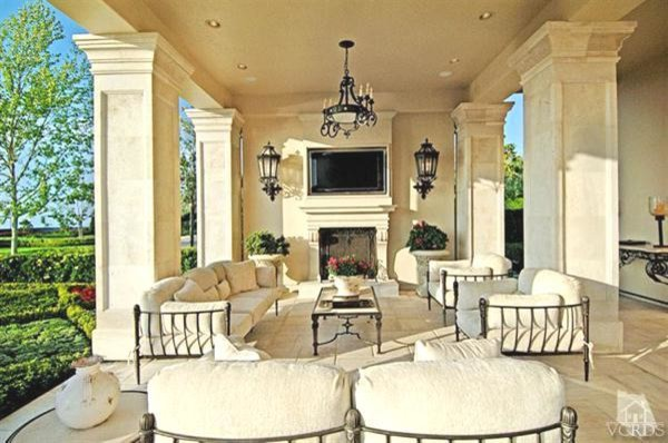 French Chateau Traditional Patio Los Angeles By