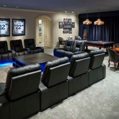 Dallas Cowboys Theater Chairs Gray Wood Dining Italian-style Abode: Home - Contemporary Los Angeles By Wesley-wayne ...