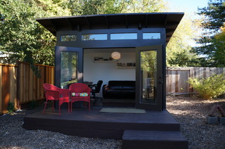 10x12 Studio Shed home office  family room  Modern