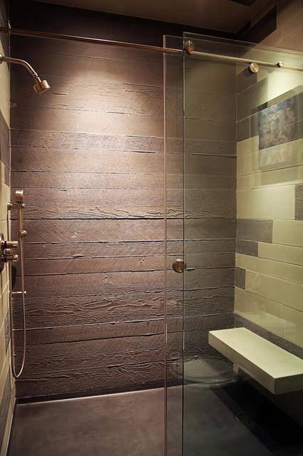 Boardform concrete  Contemporary  Bathroom  Other  by