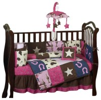 Western Cowgirl 9-Piece Crib Bedding Set - Contemporary ...