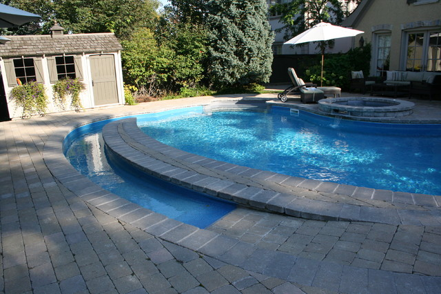 Wheelchair Accessible Swimming Pool  Traditional  Pool