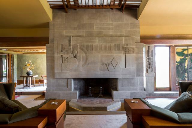 Hollyhock House  Modern  Living Room  Los Angeles  by