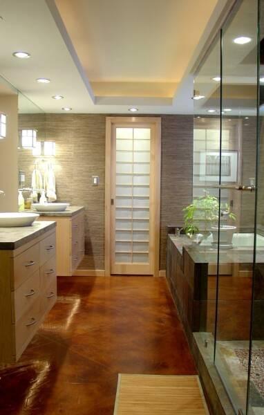 An Award Winning Master Suite Oasis  Asian  Bathroom