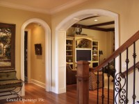 Eyebrow Arched Cased Opening Unit - Traditional - Entry ...